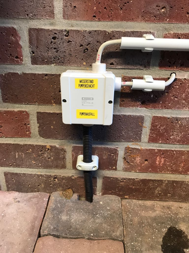 Überwachung Grundwasserpumpe