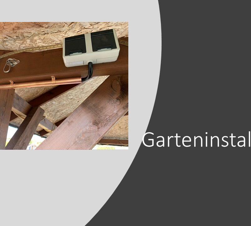 Garteninstallation